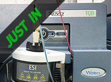Just In - Waters Xevo TQD Acquity UPLC-MS/MS System