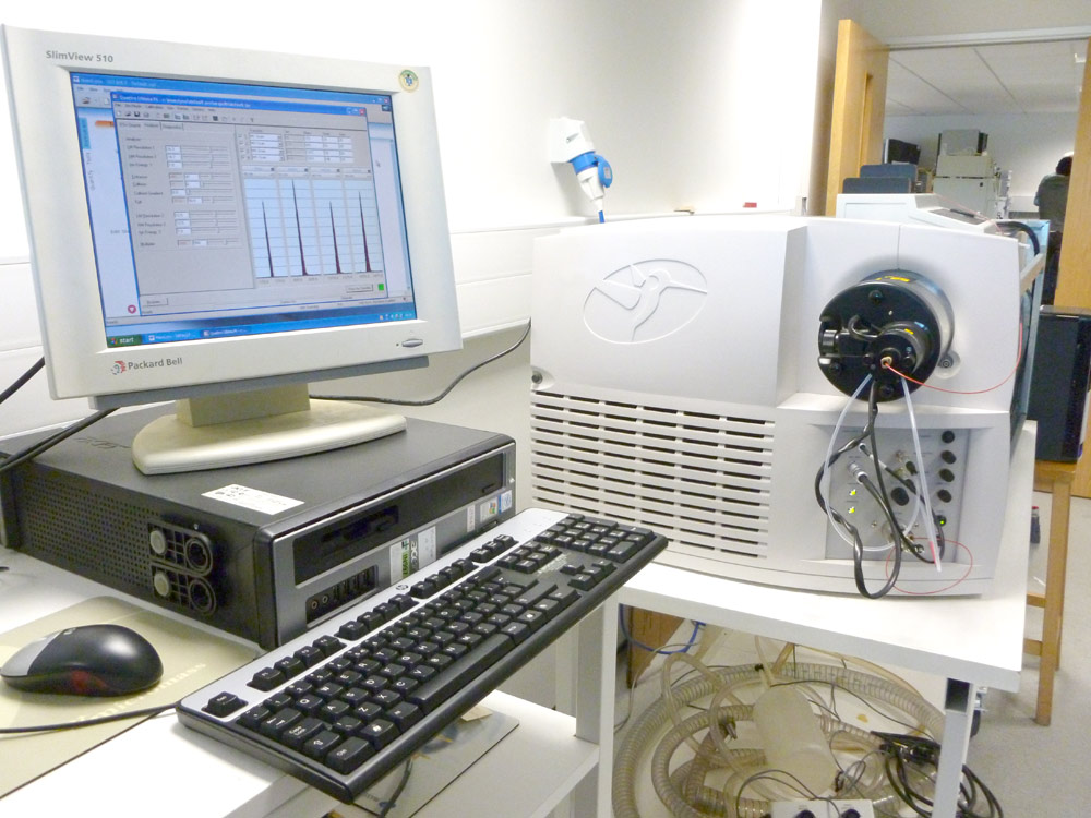 Waters Micromass Quattro Ultima Platinum Mass Spectrometer for sale